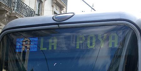 Tranvía A a La Poya por Jacques Bulchand