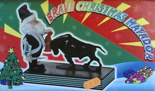 Brave Christmas Matador