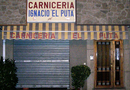 Carnicería Ignacio El Puta por El Culebrilla