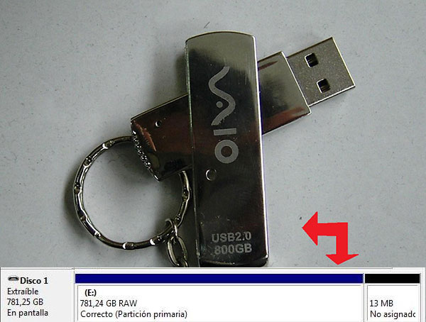 Pendrive 800 GB