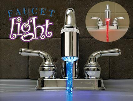 Faucet Light: caliente, caliente