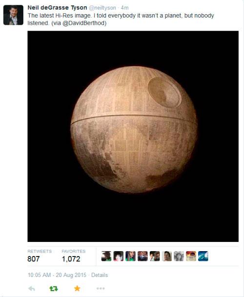 «It Wasn't a Planet»