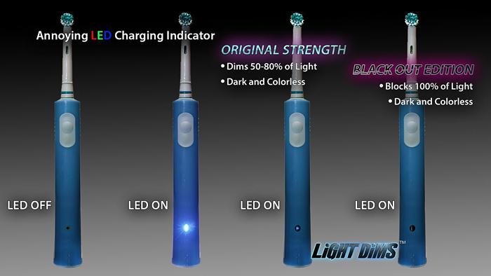 Estos adhesivos que aten an la luz que emiten los led de - Que es la luz led ...