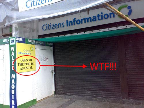 Citizens Information en Dublín