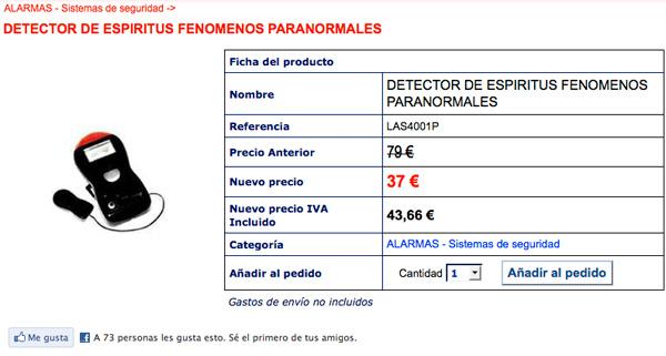 Detector de Espiritus, WTF (!?)