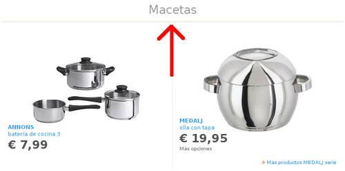 Macetas Ikea