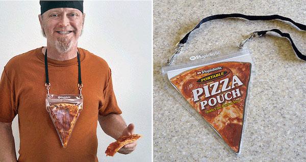 La mera existencia del Pizza pouch es como para que nos extingamos
