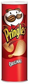 Caja de Pringles / Procter & Gamble diseñada por Fredric J. Baur
