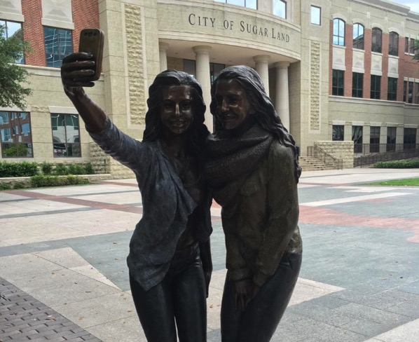 City of sugar land selfie