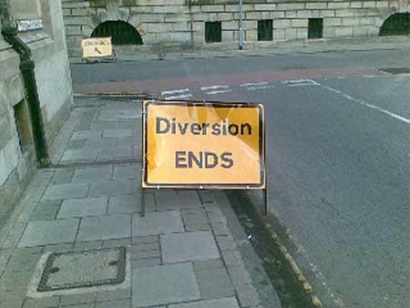 Diversion Ends