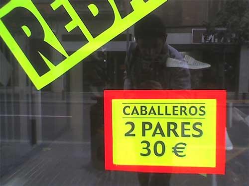 Dos caballeros, 30 euros