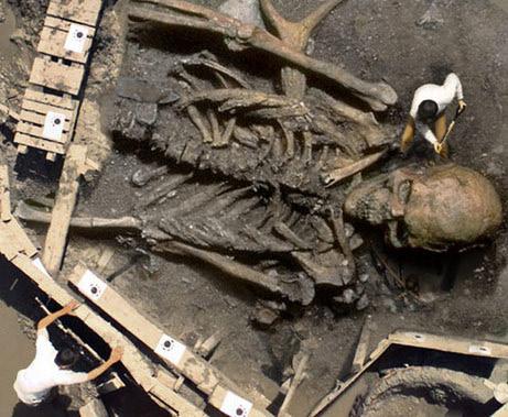 Esqueleto gigante WTF