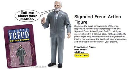 Figurita de Accion: Sigmund Freud