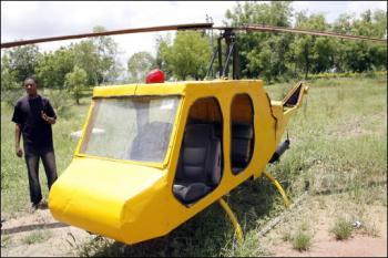 helicóptero casero