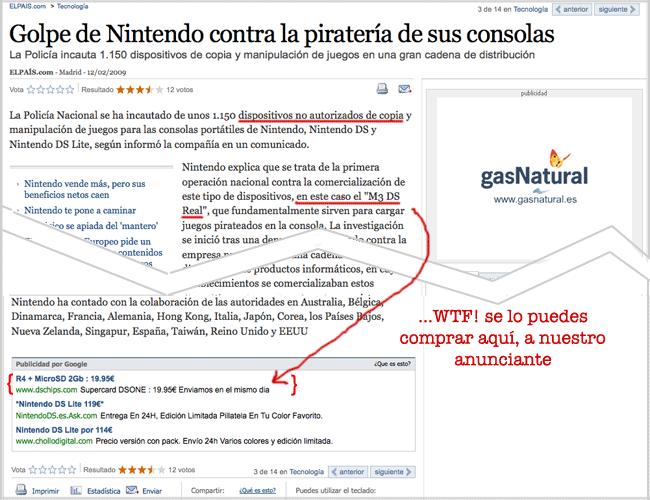 Nintendo DS R4 para «piratear» juegos