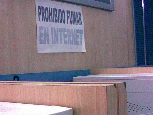Prohibido Fumar en Internet