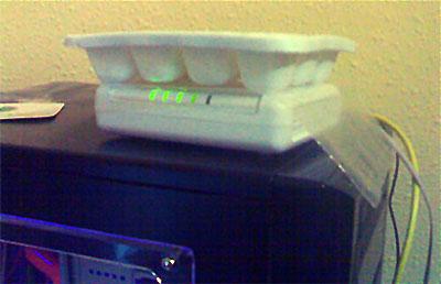 Recalentado-Router