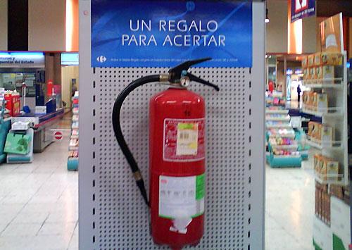 Regalo-Extintor