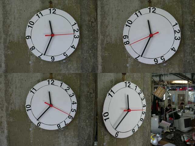 Reloj con horario Flexible