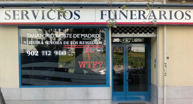 Servicios Funenarios / Foto: Alvy